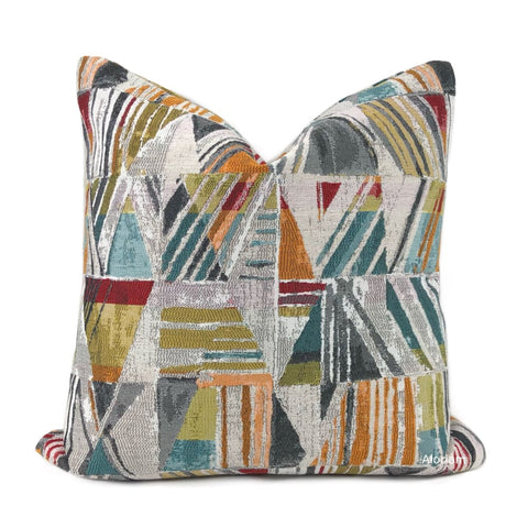 Bilboa Multicolor Modern Geometric Pillow Cover - Aloriam