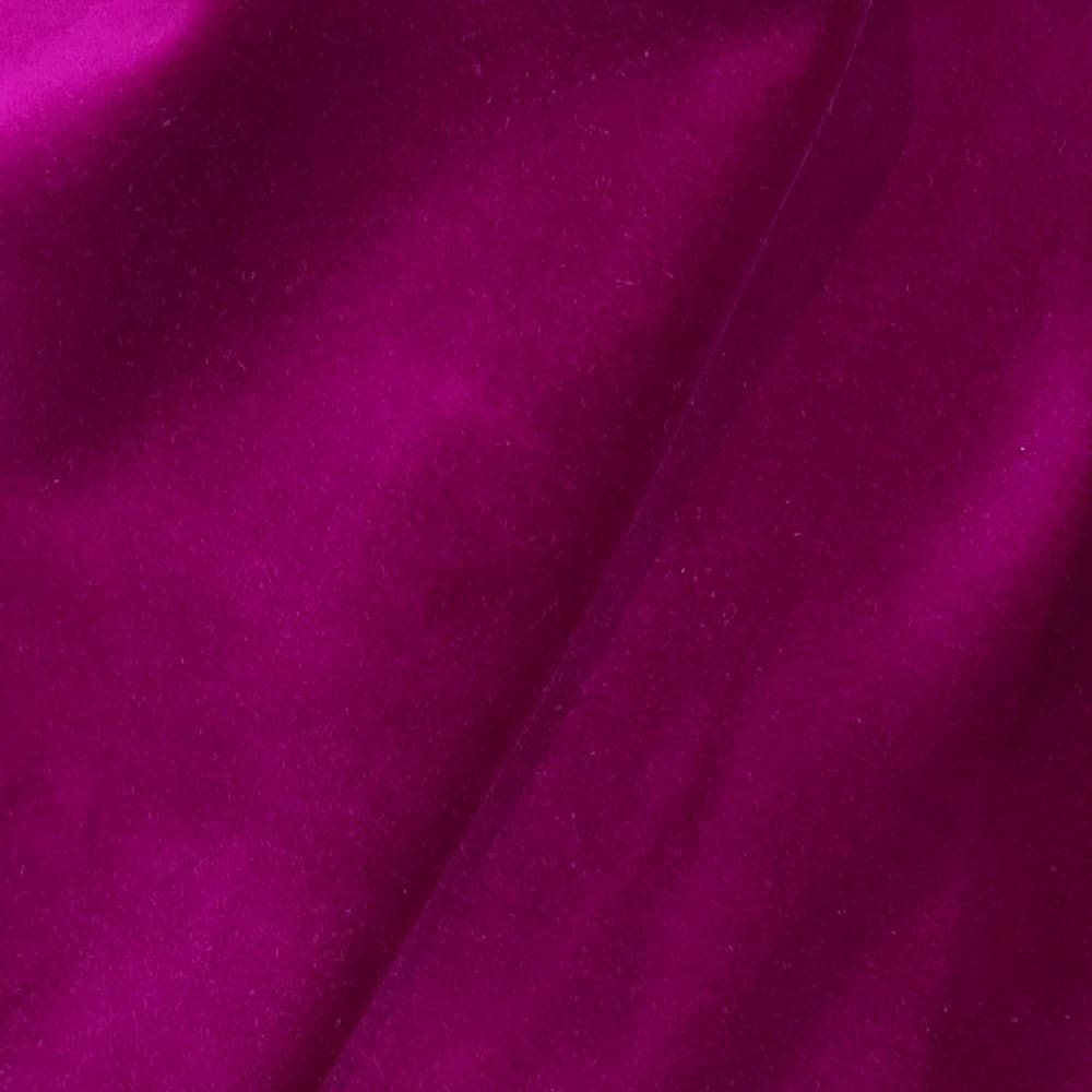 Brunswick Fuchsia Pink Cotton Velvet Pillow Cover - Aloriam