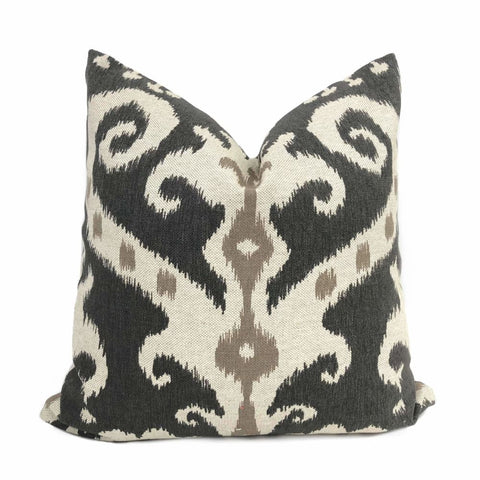 Lacefield Designs Casbah Mink Ethnic Tribal Pillow Cover