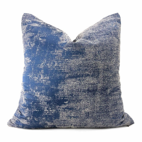 Cerruto Modern Blue Tonal Pillow Cover - Aloriam