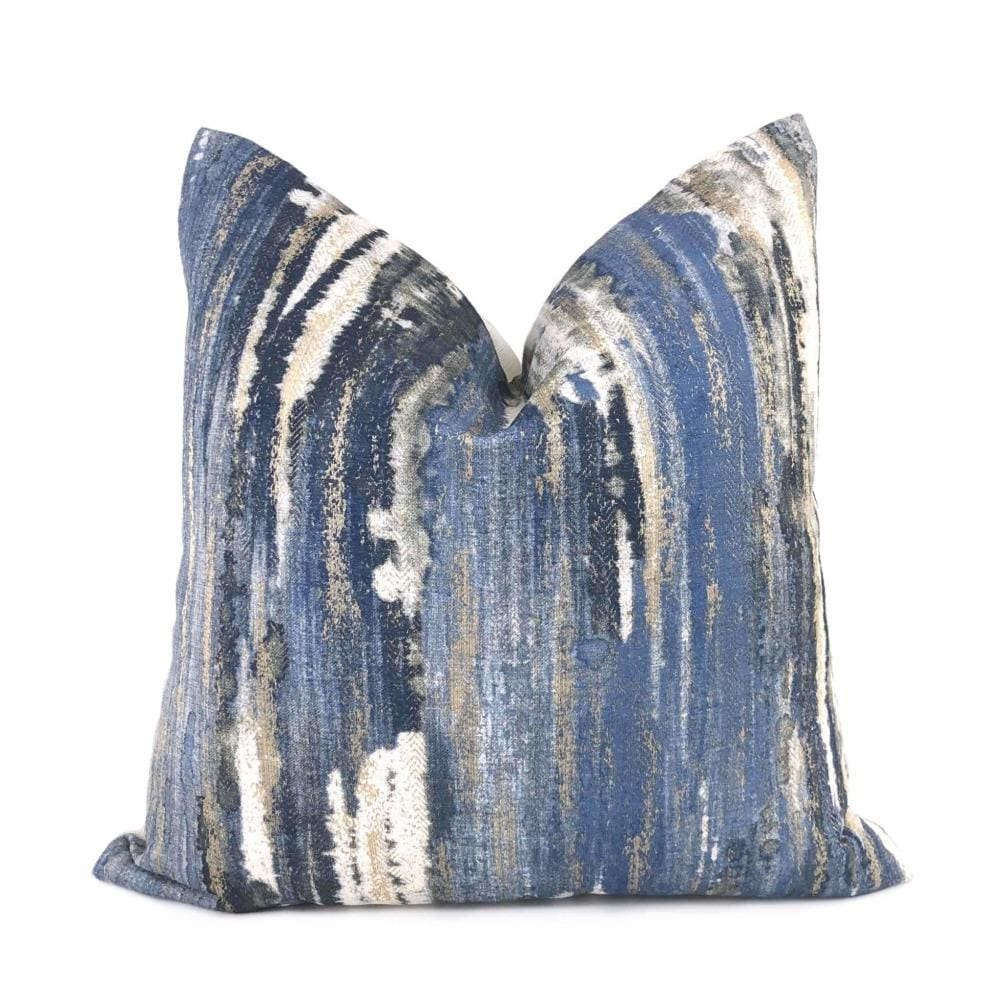 Clarke and Clarke Mosiac Contemporary Purple Grey Cushion Pillow Cover