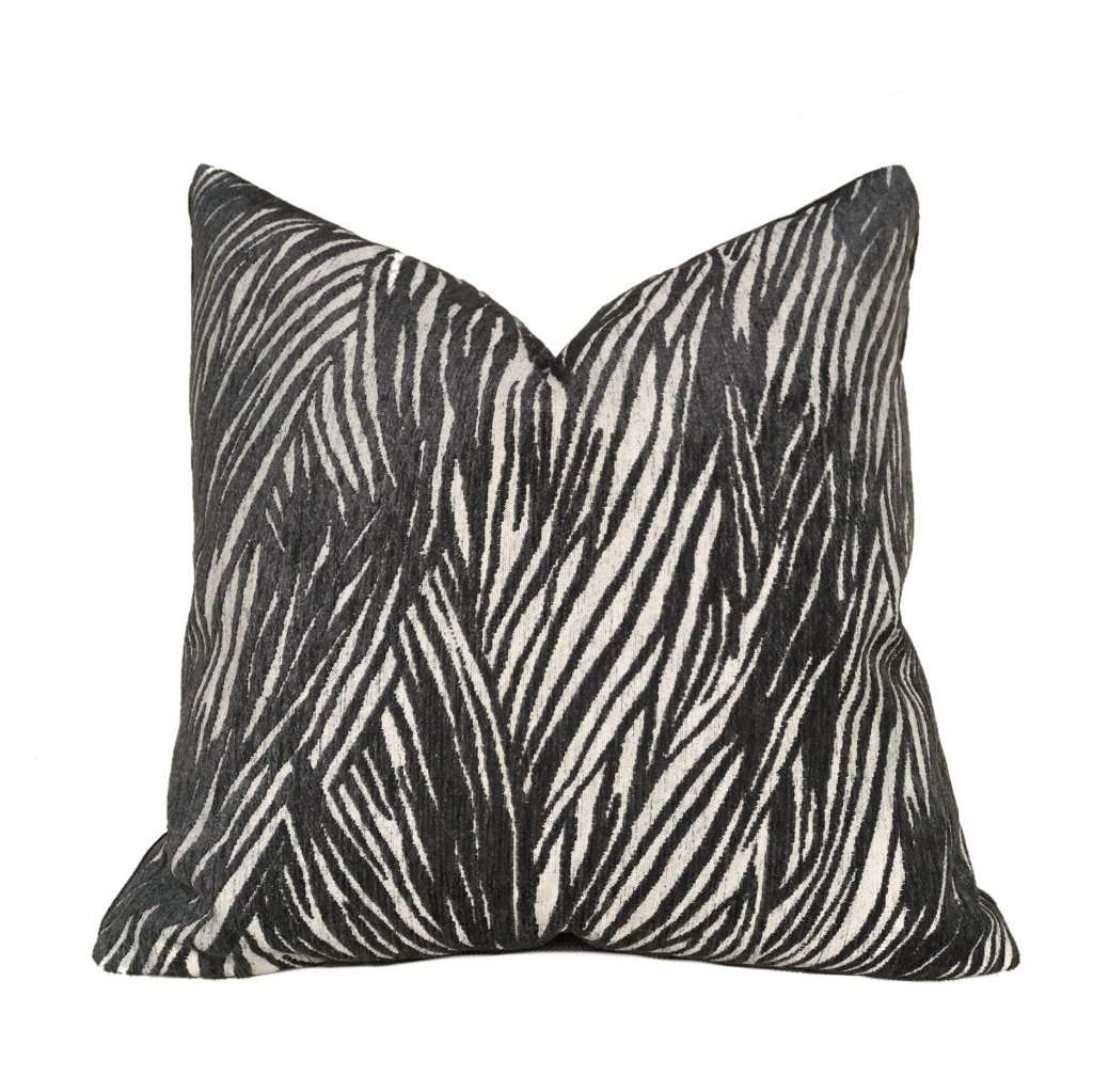 Robert Allen Black Beige Pillow
