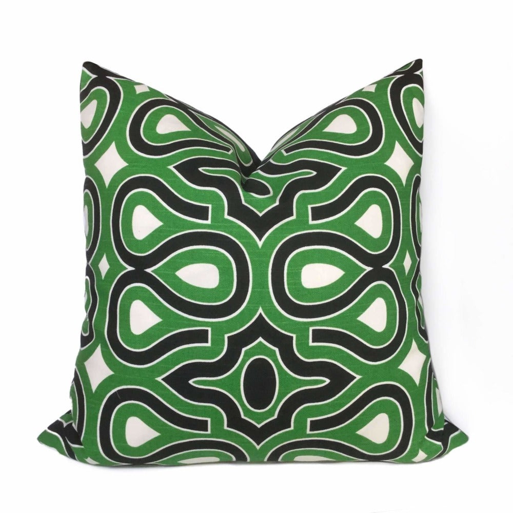 HGTV Turtle Shell Malachite Pillow Cover
