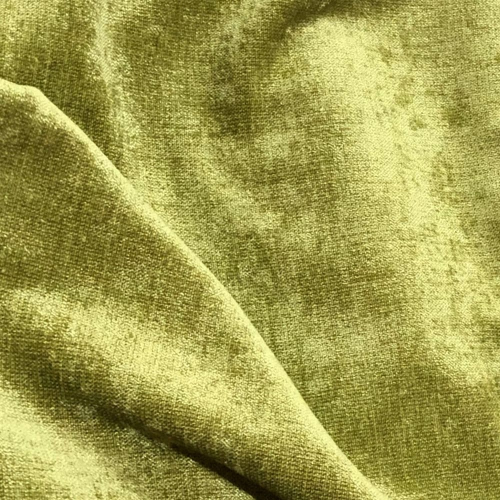 Key Lime Green Chenille Pillow Cover - Aloriam