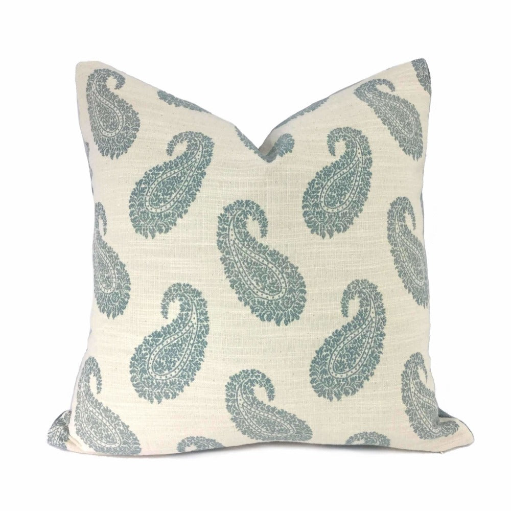 Kravet Anjera Grace 32477-15 By Candice Olson Paisley Pillow Cover