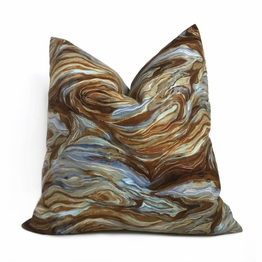 Magnificent Earth Abstract Geology Pattern Decorative Throw Pillow Cover Cushion Pillow Case Euro Sham 16x16 18x18 20x20 22x22 24x24 26x26 28x28 Lumbar Pillow 12x18 12x20 12x24 14x20 16x26 by Aloriam