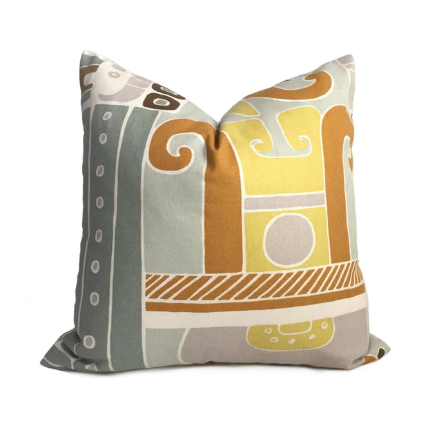 Modern Central American Aztec Ethnic Motif Pillow Cover