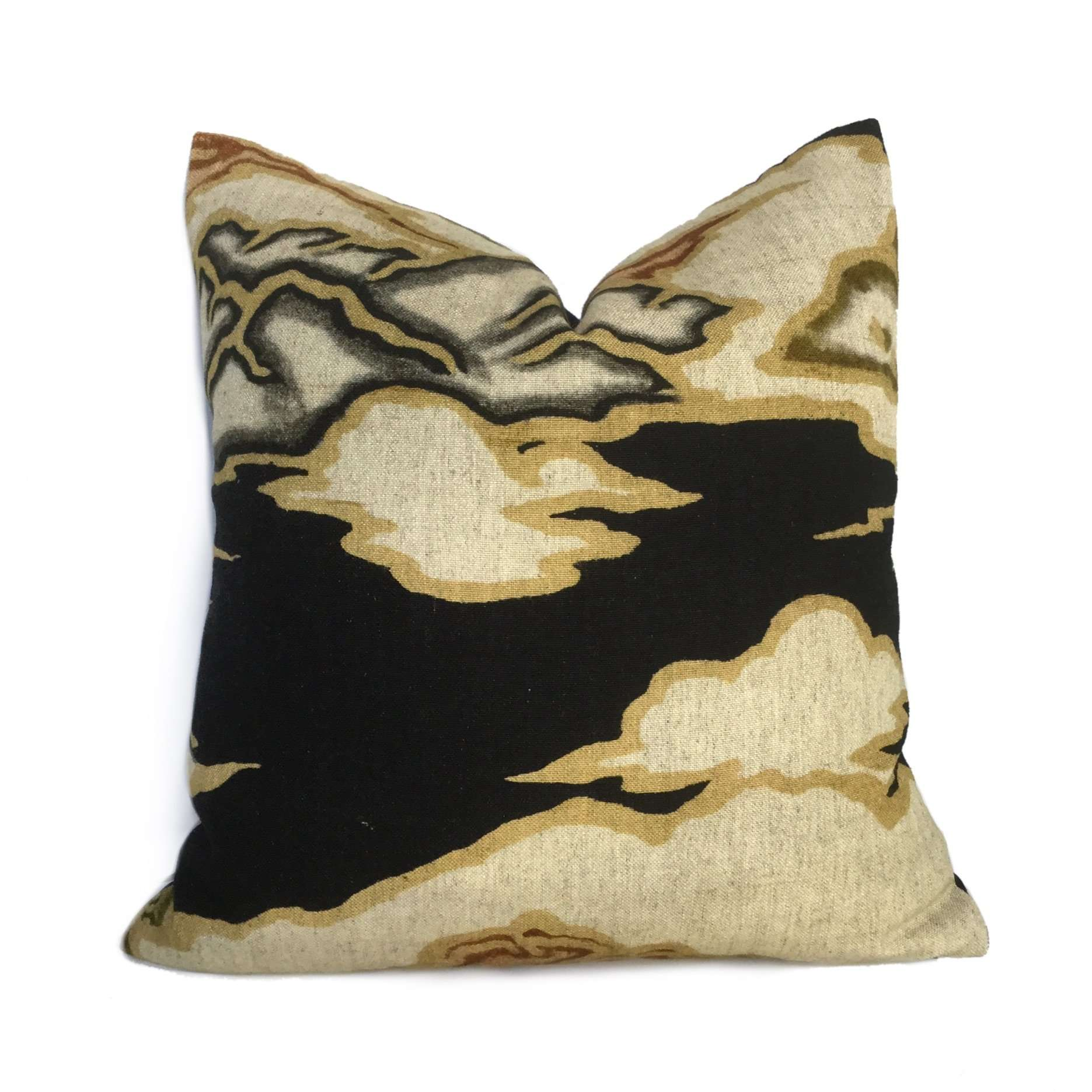 Robert Allen Chattingham Onyx Abstract Pictorial Pillow Cover
