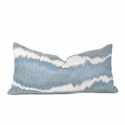 Robert Allen Didessa Denim Abstract Pillow Cover - Aloriam