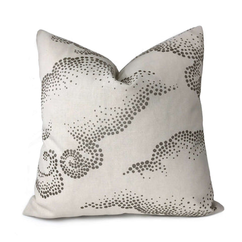 Robert Allen Dwell Studio Cloudburst Pearl Asian Pillow Cover