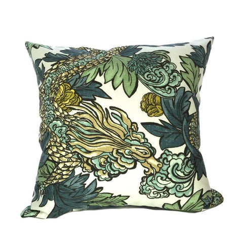 Robert Allen Ming Dragon Pillow by Aloriam