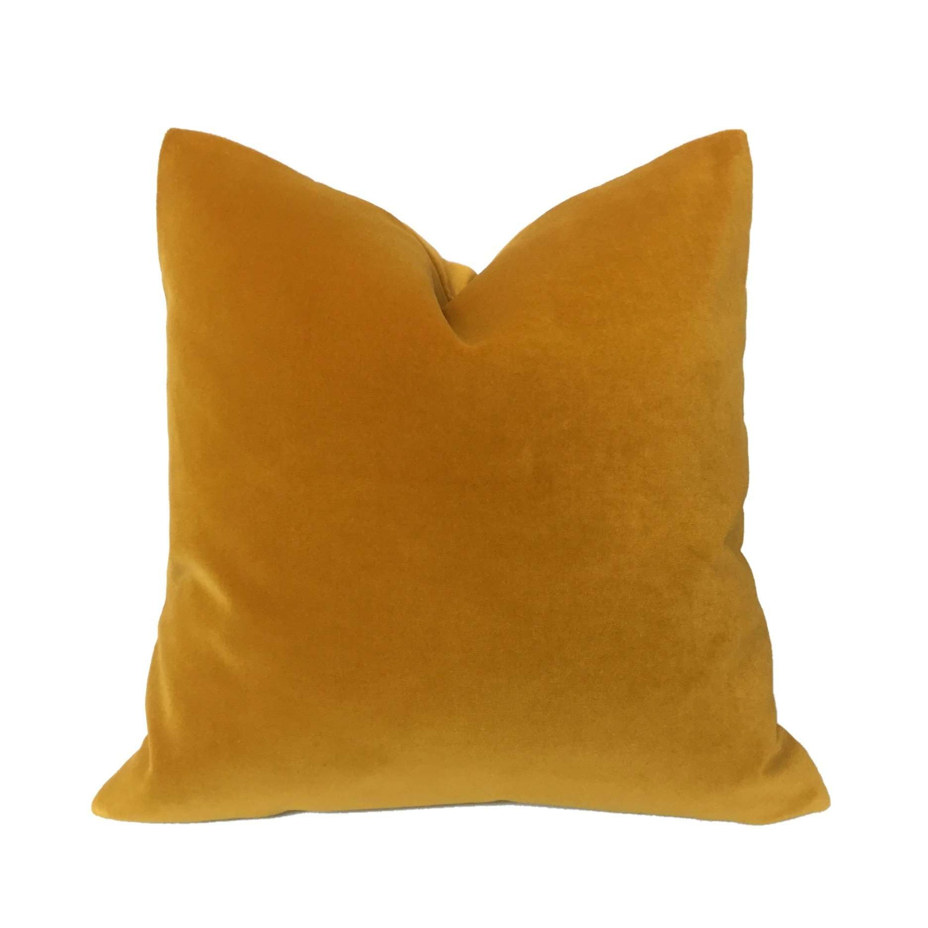 Robert Allen Gold 14 Karat Exquisite Velvet Pillow