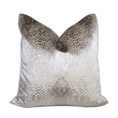 Robert Allen Hidden World Zinc Silver Gray Velvet Pillow Cushion Cover Cushion Pillow Case Euro Sham 16x16 18x18 20x20 22x22 24x24 26x26 28x28 Lumbar Pillow 12x18 12x20 12x24 14x20 16x26 by Aloriam