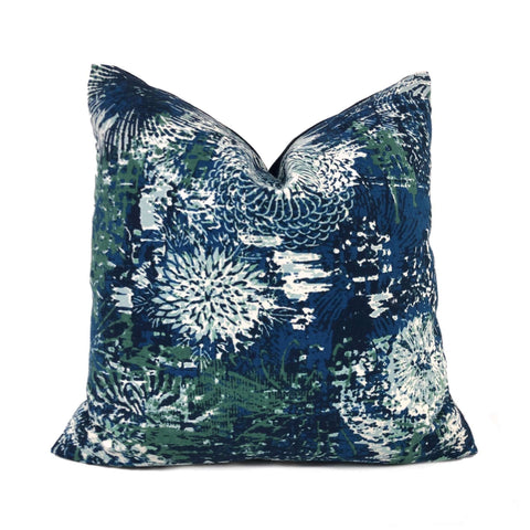 Robert Allen Fezara Modern Floral Pillow Cover