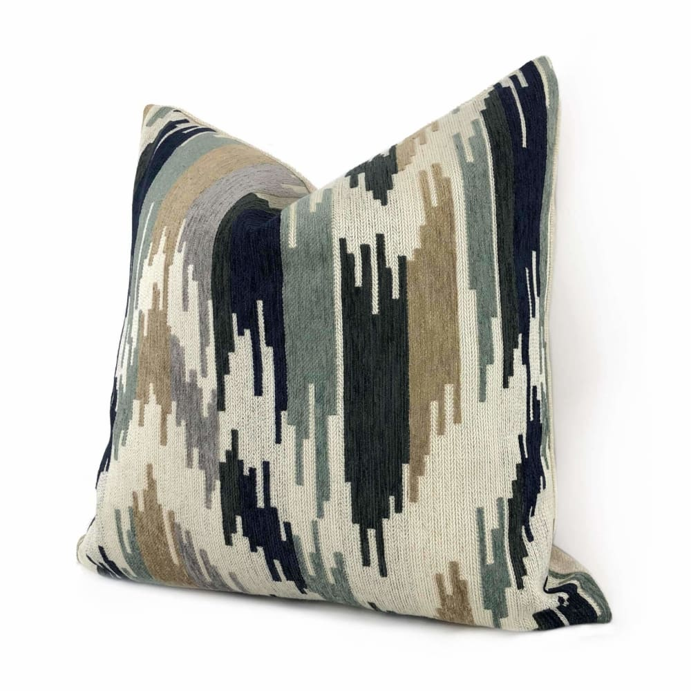 Dots Front 18x18 and 20x20 inch Siz Square Pillow Available in 16x16 Green and Beige Solid Color Back INSERT INCLUDED