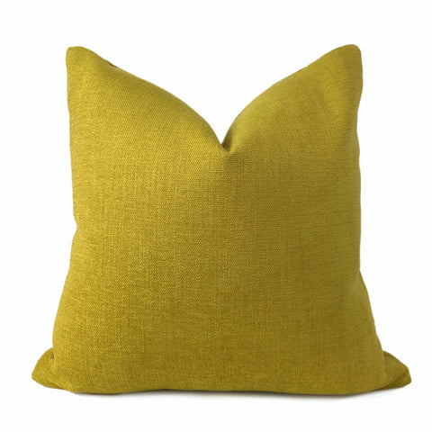 Solid Curry Mustard Yellow Pillow Cover - Aloriam
