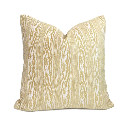 Suburban Home Citron Yellow Faux Bois Woodgrain Pattern Texture Upholstery Pillow Cover Cushion Pillow Case Euro Sham 16x16 18x18 20x20 22x22 24x24 26x26 28x28 Lumbar Pillow 12x18 12x20 12x24 14x20 16x26 by Aloriam