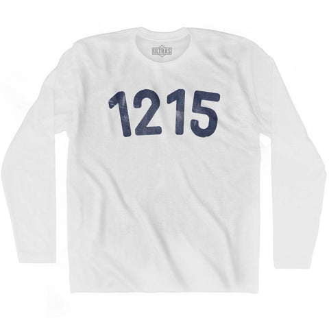 1215 Year Celebration Adult Cotton Long Sleeve T-shirt