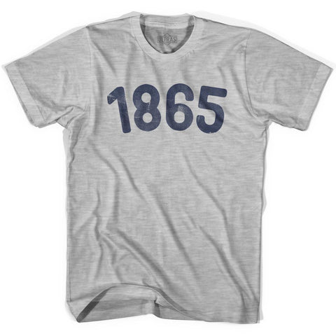 1865 Year Celebration Womens Cotton T-shirt