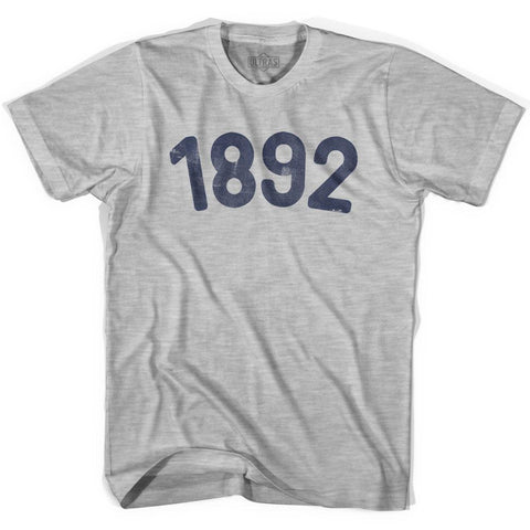 1892 Year Celebration Womens Cotton T-shirt