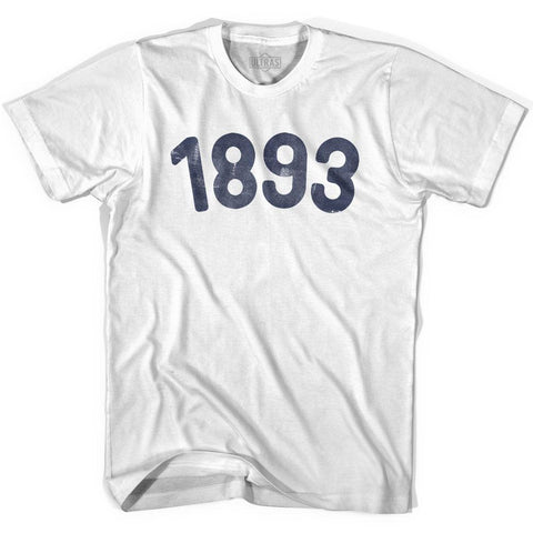 1893 Year Celebration Womens Cotton T-shirt