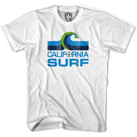 California Surf Vintage Soccer T-shirt