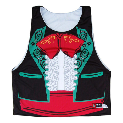 Amigo Tuxedo Sublimated Lacrosse Pinnie