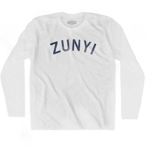 Zunyi Vintage City Adult Cotton Long Sleeve T-shirt