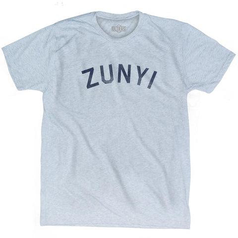 Zunyi Vintage City Adult Tri-Blend T-shirt