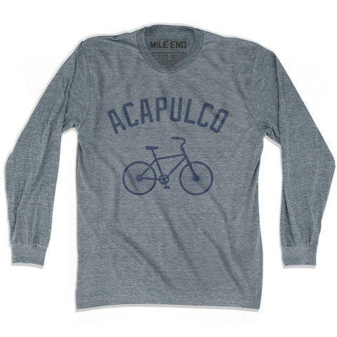 Acapulco Vintage Bike T-shirt Long Sleeve