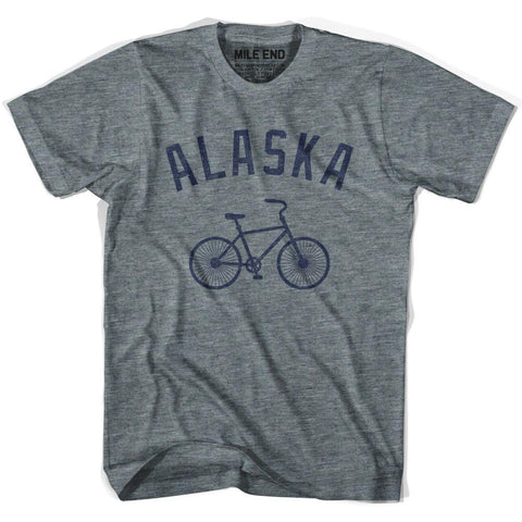 Alaska Vintage Bike T-shirt-Adult