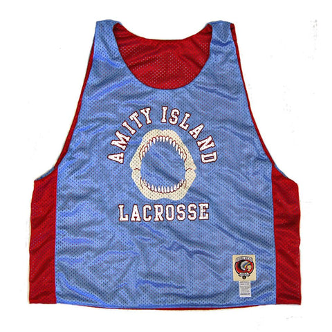 Amity Island Jaws Lacrosse Pinnie