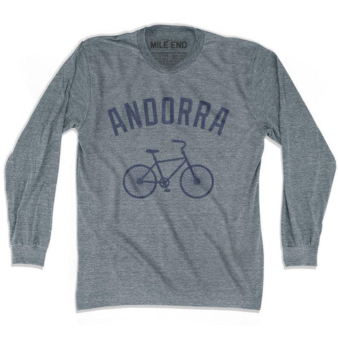 Andorra Vintage Bike T-shirt Long Sleeve