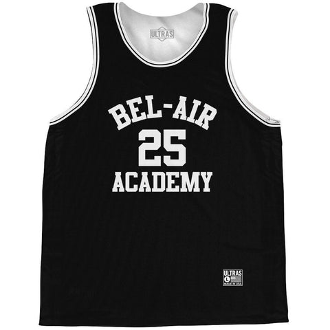Bel-Air Academy Banks #25 Basketball Practice Singlet Jersey