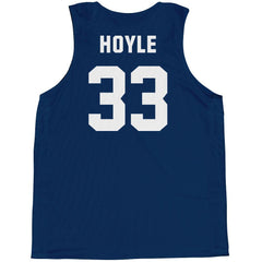 Brotherhood Billy Hoyle #33 Basketball Pinnie in Blue by Billy Hoyle - Back