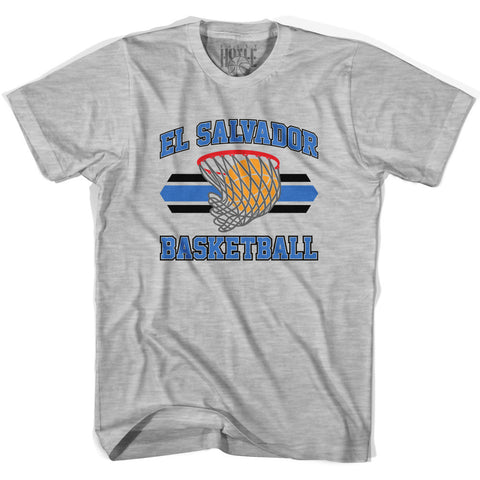El Salvador 90's Basketball T-shirts