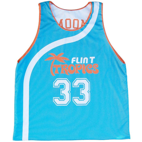 Flint Tropics Moon #33 Basketball Reversible
