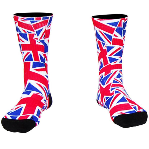 Great Britain Flag Party Crew Socks