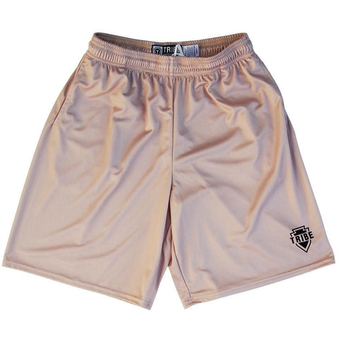 Tribe Vegas Gold Lacrosse Battle Shorts