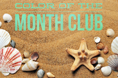 SeaPaint Color of the Month Club Subscription