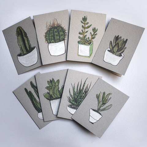 Notelets - Cacti & Succulents