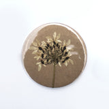 58 mm Pocket Mirror - Pressed Flowers - Lucky Dip