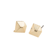 Gold Diamond Earrings - GEE113 - Harlow Jewelry - 1