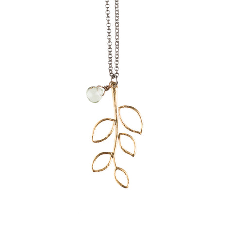 Gold Twig Necklace - GEN510