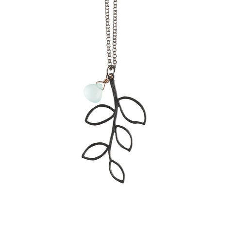 Black Twig Necklace - GEN511