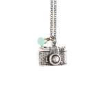 Photographer Necklace - GEN527 - Harlow Jewelry - 1