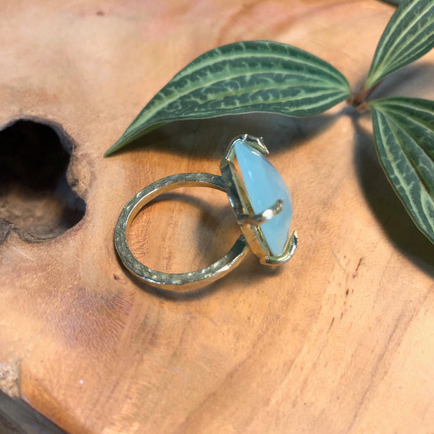 Casey Ring - Mint Chalcedony