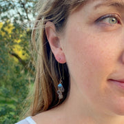 Labradorite Cascade Earrings