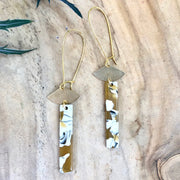 Lina Earrings - Yellow