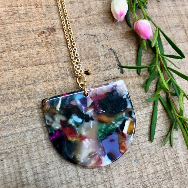 Andie Necklace - Confetti